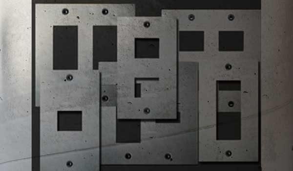 ランダムに表示されたスイッチプレートの画像
