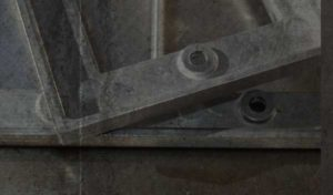 ワイドスイッチプレート金型で出来た試作品