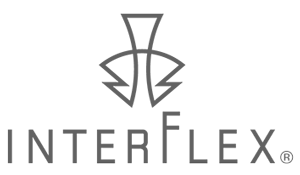 INTERFLEXのマークとロゴタイプ画像