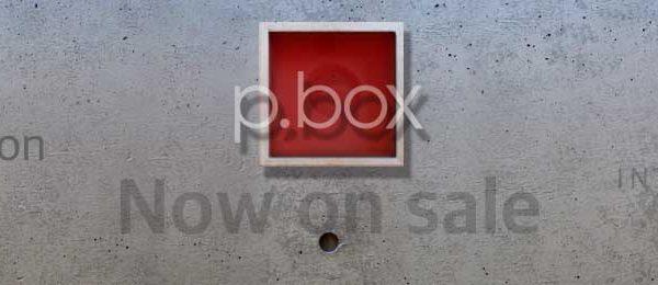 新商品p.box発売開始告知用アイキャッチ画像