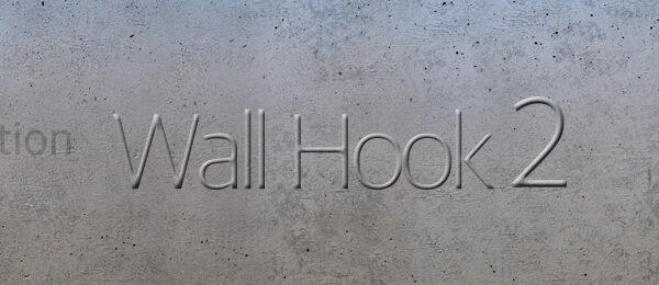 Wall Hook発売予告タイトル