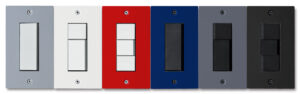 6 colors punto Switch Plate for Jimbo NK series