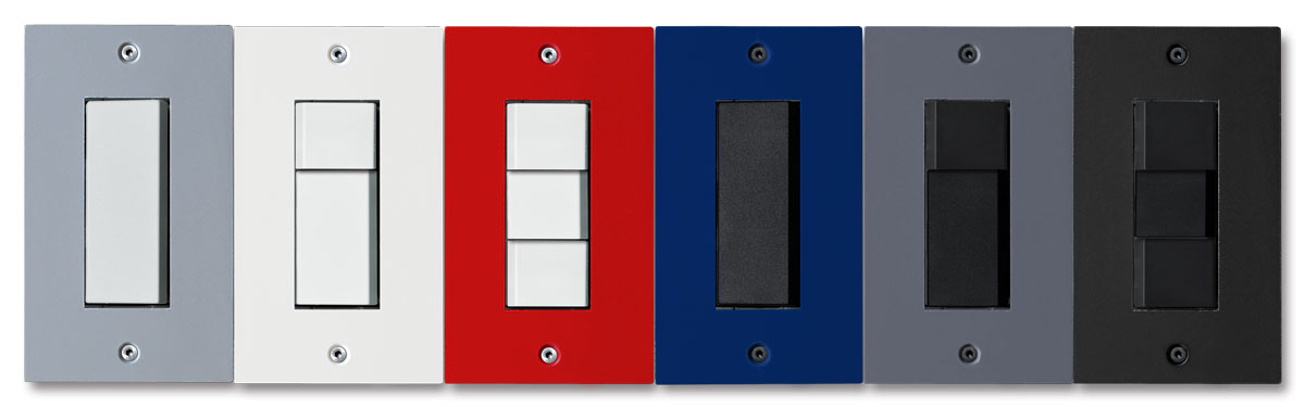 Switch Plate Design 6 colors punto Switch Plate
